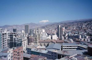 Photograph of La Paz, Bolivia