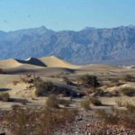Photograph of sand dunes, Death Valley