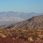 Photograph of landscape W of Death Valley, CA