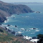 Photograph of landscape near Big Sur, CA
