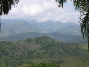 Photograph of landscape, San Cristobal, Dominican Republic