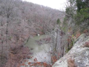 Photograph of Lusk Creek Canyon, IL