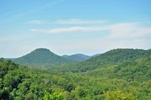 Photograph of landscape in Big Gap area, Rockcastle County, KY