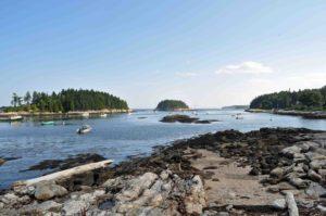 Photograph of landscape at Five Islands, ME