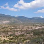 Photograph of landscape in Nuevo Leon, Mexico