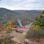 Photograph of landscape from summit of Anthony's Nose, NY