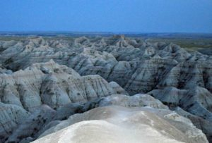 Photograph of Badlands, SD