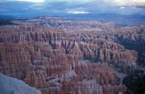 Photograph of hoodoos in Bryce Canyon