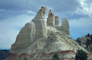 Photograph of hoodoos in Utah