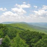 Photograph of mountains from Wind Rock, VA
