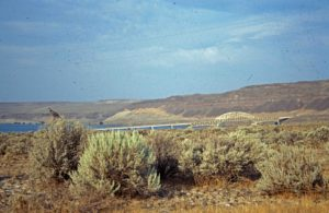 Photograph of landscape in eastern Washington