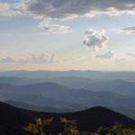Photograph of WV mountains from Reddish Knob, VA
