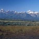 Photograph of Grand Teton mountains, WY
