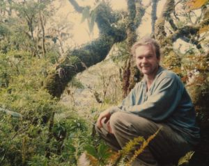 Photograph of Richard Abbott in Bolivia in 1995