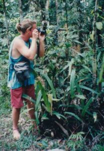 Photograph of Richard Abbott in Ecuador, 1994.